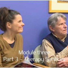 [Module 3] Part 3 – Therapy Services
